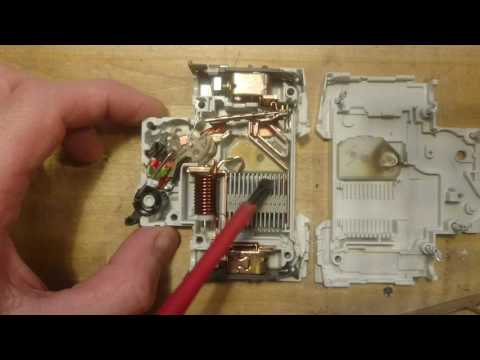 Mysterious Failure Of A Siemens Mini Circuit Breaker C6A (5SY41)