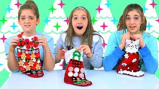 Don't Choose The Wrong Stocking Slime Challenge!