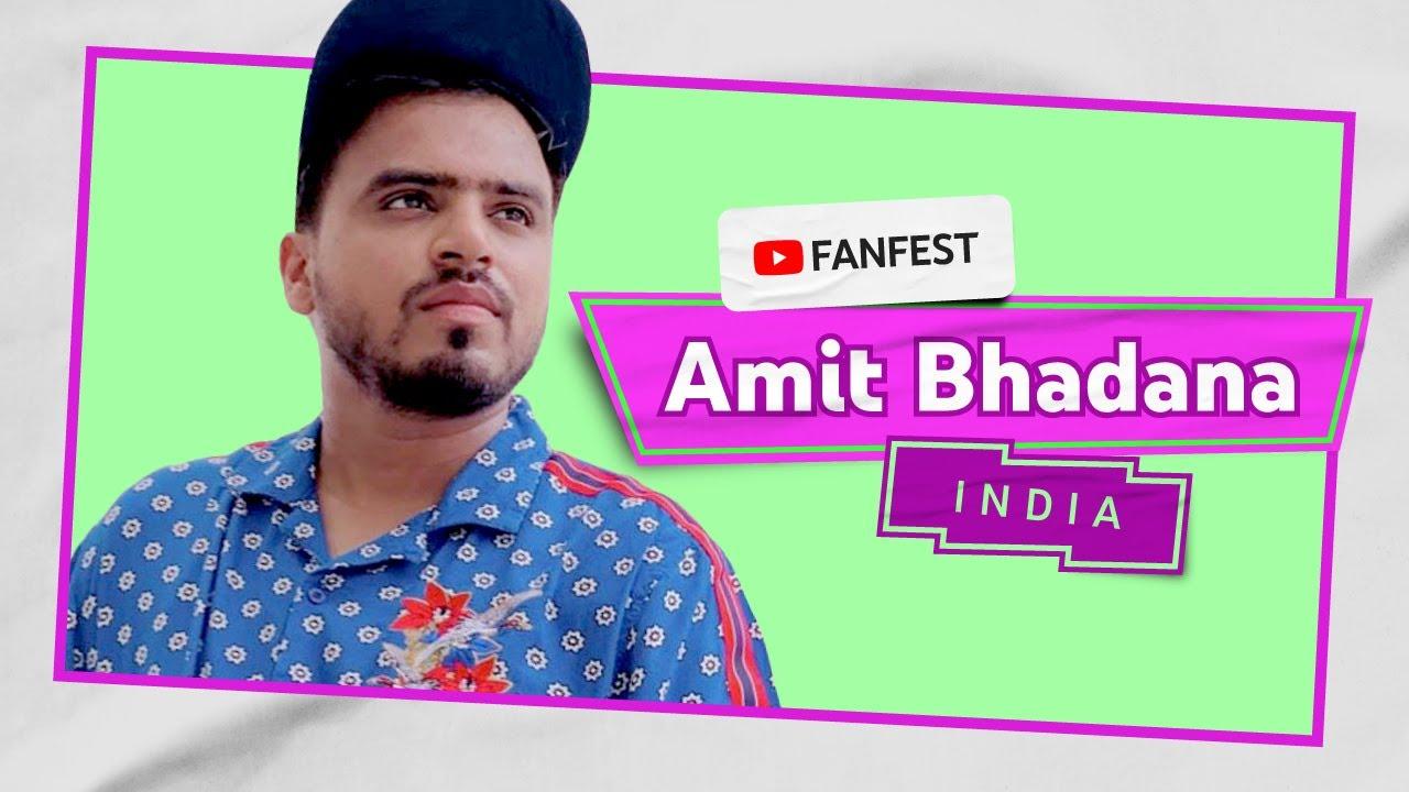 Amit Bhadana | YouTube FanFest India 2020
