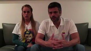 López y su familia se refugian en la Embajada de Chile