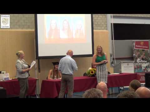 Diploma Uitreiking VWO - Hoeksch Lyceum 2015 (HLTV)