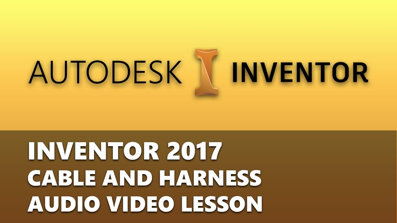 maxresdefault autodesk inventor 2017 cable and harness environment(introduction  at cos-gaming.co