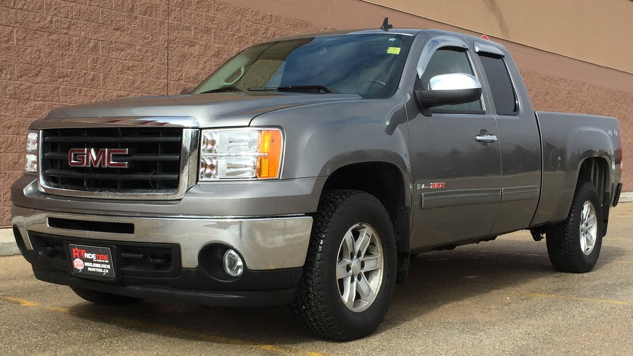 2007 GMC Sierra 1500 SLT 4WD   6 0L Vortex Max Package  Leather     2007 GMC Sierra 1500 SLT 4WD   6 0L Vortex Max Package  Leather  Extended  Cab   HUGE VALUE   YouTube