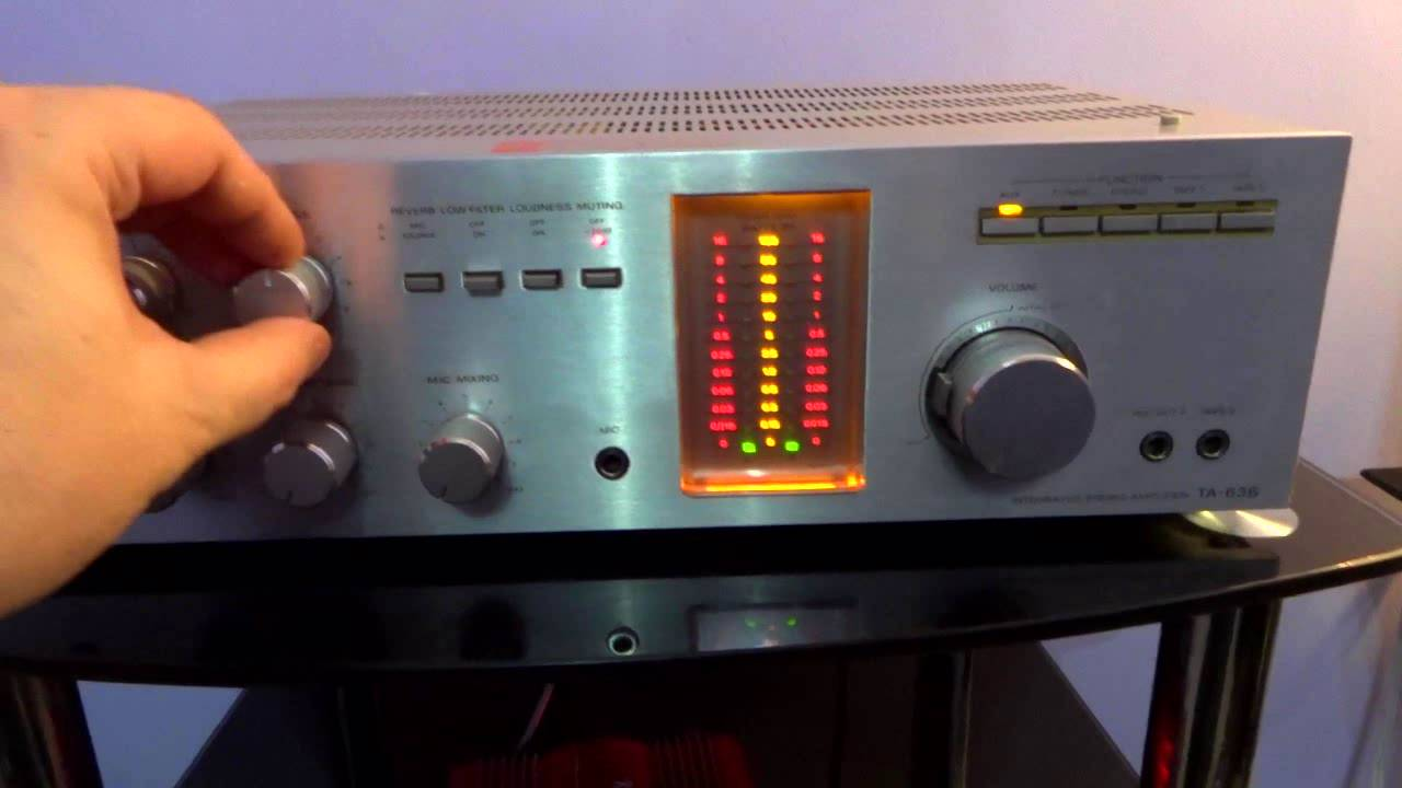 VINTAGE SONY TA-636 AMPLIFIER REPAIR VIDEO 1 OF 3 - SYNTHEMATIX