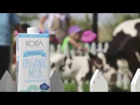Koita Organic Milk & Strawberry Social @ Homegrown Eco-Nursery