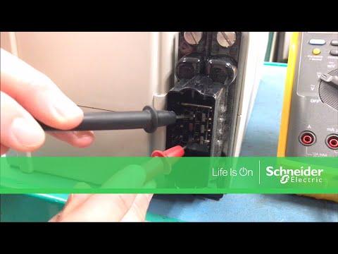 Measuring Voltage of SYBATT Symmetra Power Array Battery Module | Schneider Electric Support