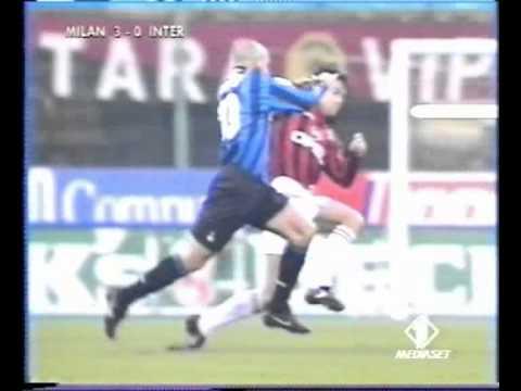 Ronaldo vs Costacurta dirty tackle