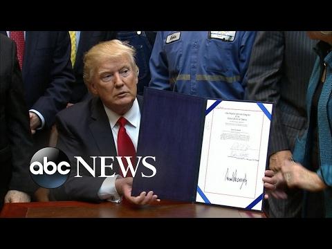 Trump Overturns Bill On Coal Mining Debris