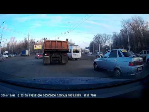 Prestigio RoadRunner 545GPS Тестирование в Рязани.  Дневная съемка