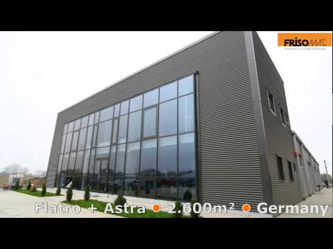 26 Industrial Buildings in 80 seconds -  Frisomat Steel Buildings - Construction