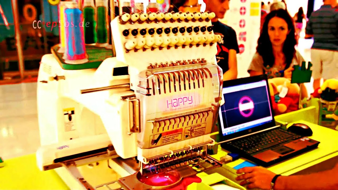 Nice Embroidery Machine For Business Youtube