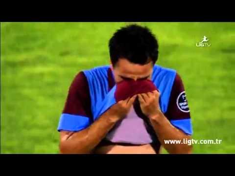 Volkan Şen'in gözyaşları