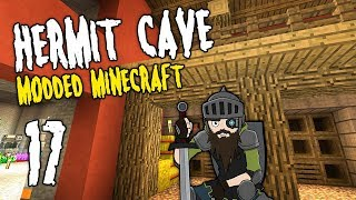 Hermit Cave: 17 | The Cave BARN | Modded Minecraft