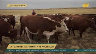 Қарағанды облысының Жаңарқа ауданындағы сүт зауыты 2018 жылы іске қосылатын болды