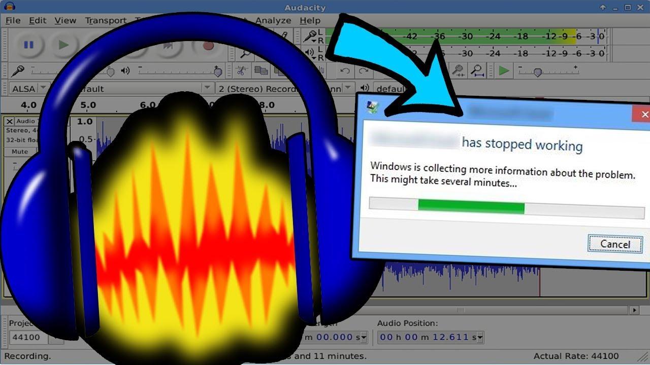 audacity download not working