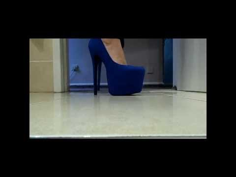 Blue Suede Heels Unboxing & Demo