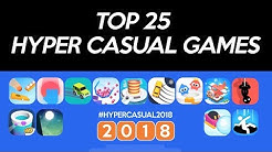 Top 25 Hyper Casual Games 2018