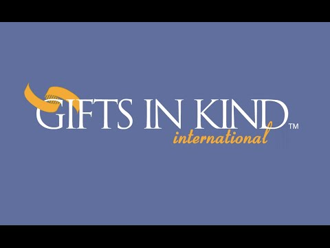 Gifts in Kind Logo Animation