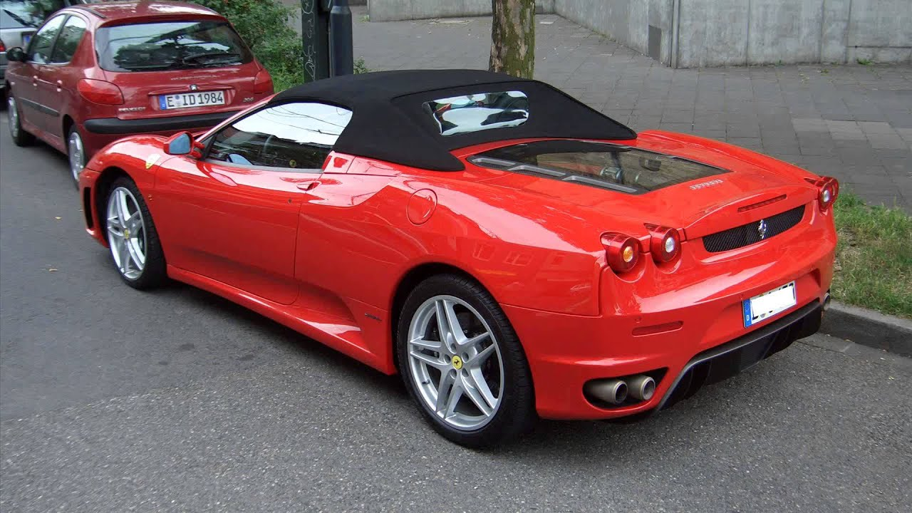 2015 ferrari f430 spider youtube. Black Bedroom Furniture Sets. Home Design Ideas