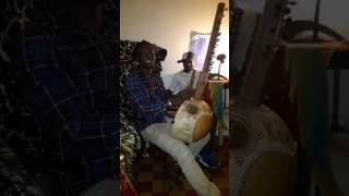 Moussa Dembele Singing