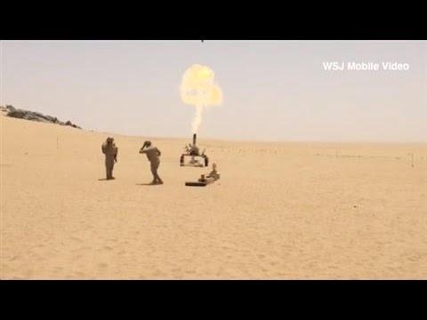 Raw Footage: Saudis Fight at the Yemen Border