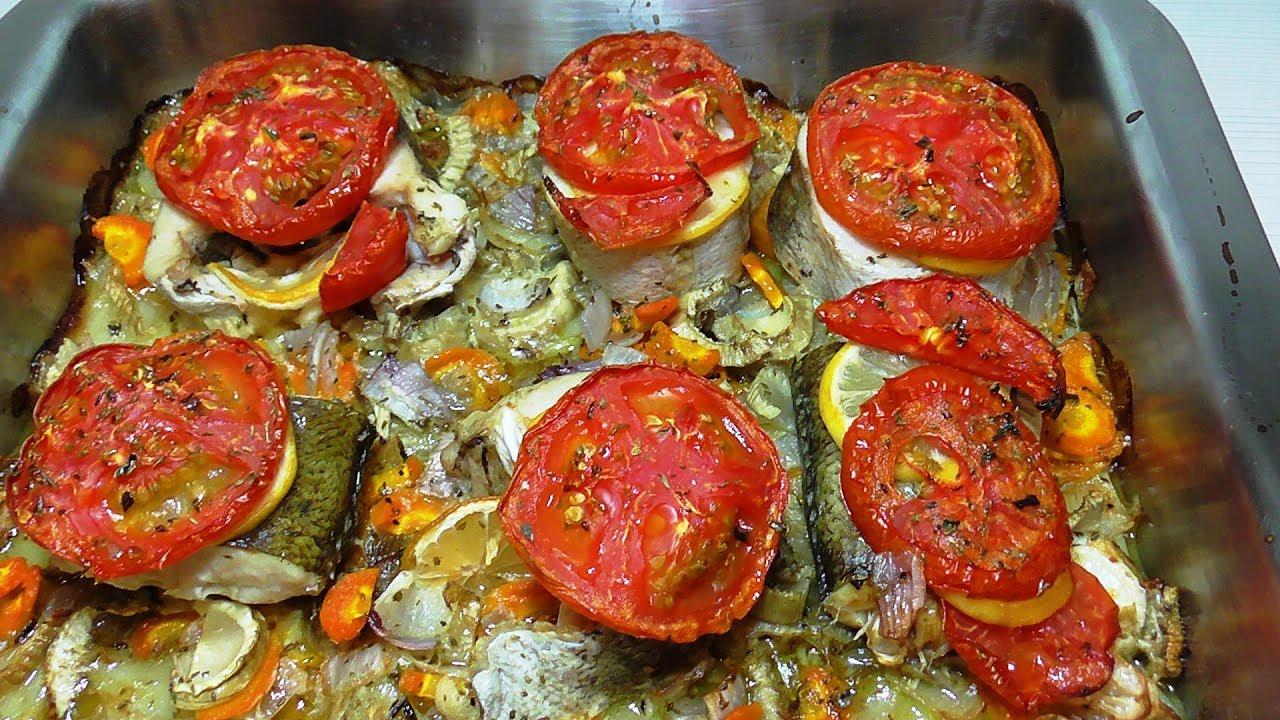 Запеченная рыба в духовке Как вкусно запечь рыбу