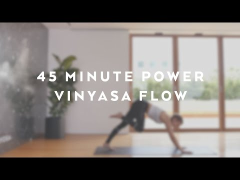 Aloha Yoga – 45 minute Power Vinyasa Flow with Jessica Olie – Alo Yoga