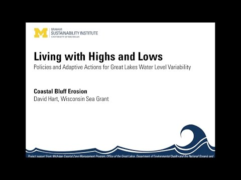 Living with Highs & Lows Webinar Series - Coastal Bluff Erosion
