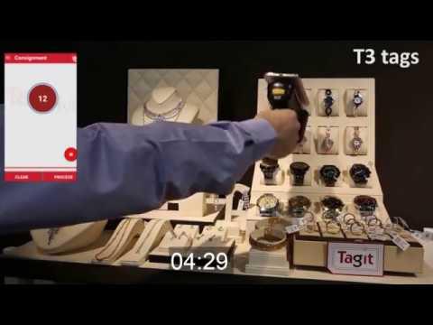 RFID Jewelry Tag - T12 vs T3