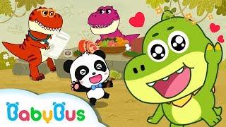 ❤ Good Morning My Little Dinosaur | Nursery Rhymes | Kids Songs | BabyBus