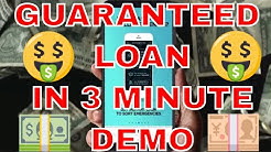 Guaranteed !! Instant loan in 5 minutes on Mobile, step by step explained by trick tech show