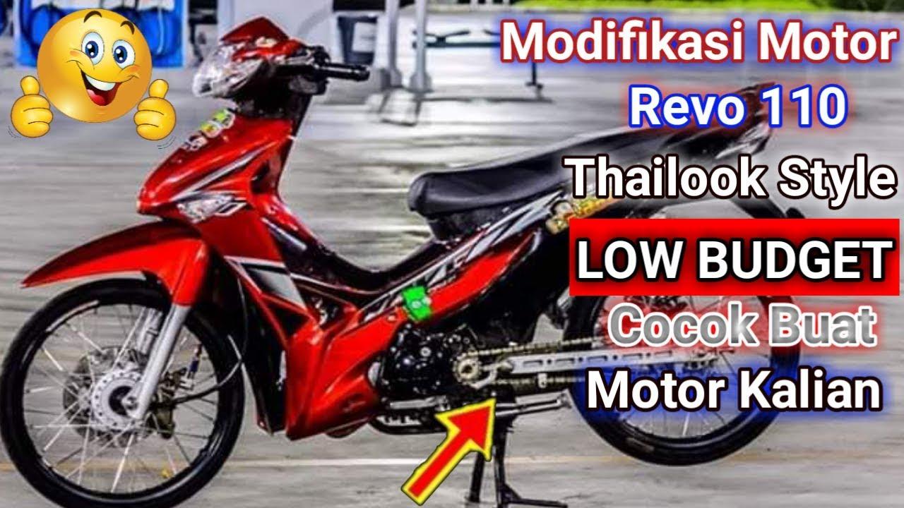 Modifikasi Motor Revo 110 Youtube