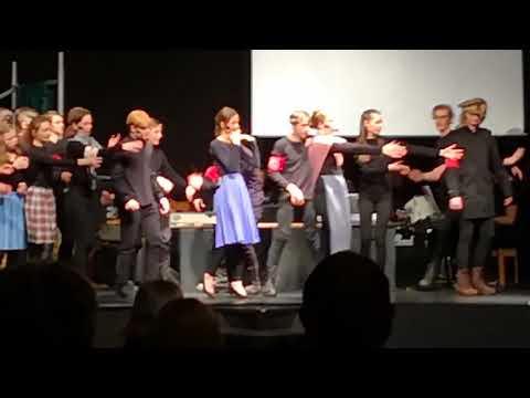 Musical 2018  På flugt 1943  Ferritslev Friskole
