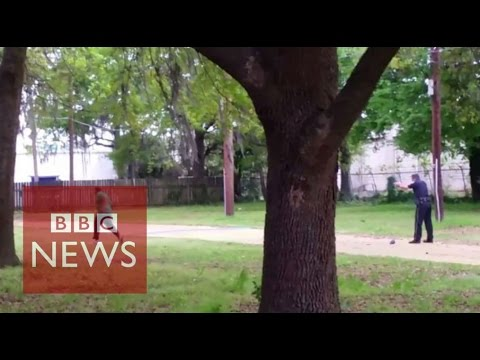Walter Scott shooting: South Carolina policeman charged with murder - BBC News