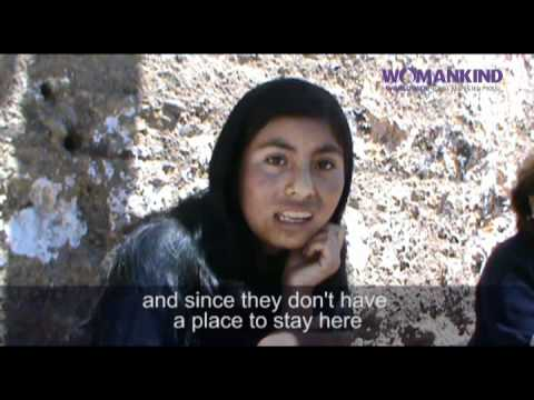Womankind's Peruvian partner DEMUS told by Luz