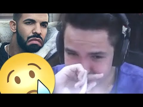 CHOREI ASSISTINDO O CLIPE NOVO DO DRAKE!! - Clipetz