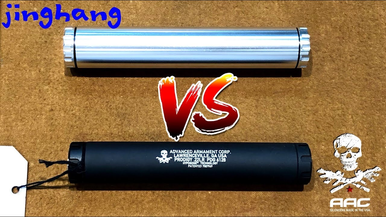 Real Silencer Vs Solvent Trap