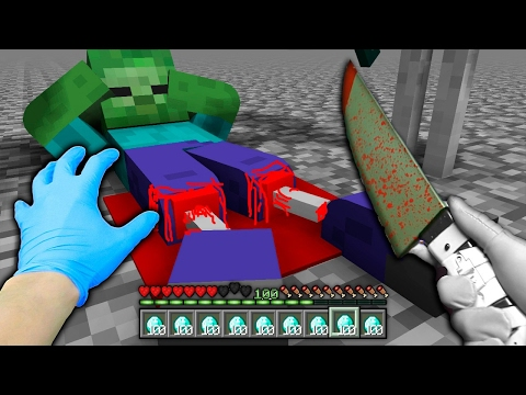 Top 5 Realistic Mob Life - Minecraft Animations