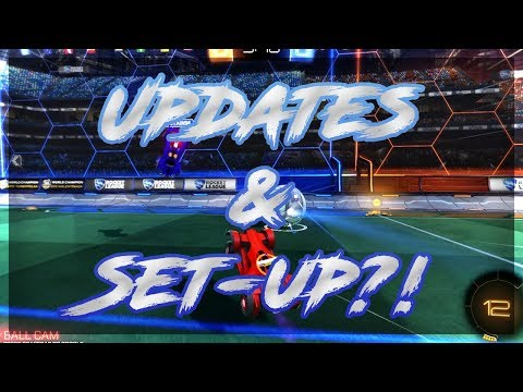 Updates & Set-Ups?! - Rocket League Commentary!
