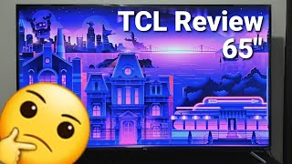 TCL 65 Inch 4K Roku TV Review | 4 Series