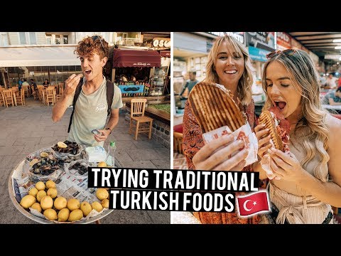 We Tried Traditional Turkish Foods in Canakkale & Ayvalik