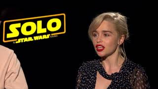 """Emilia Clarke & Paul Bettany React To """"This Is America"""" 