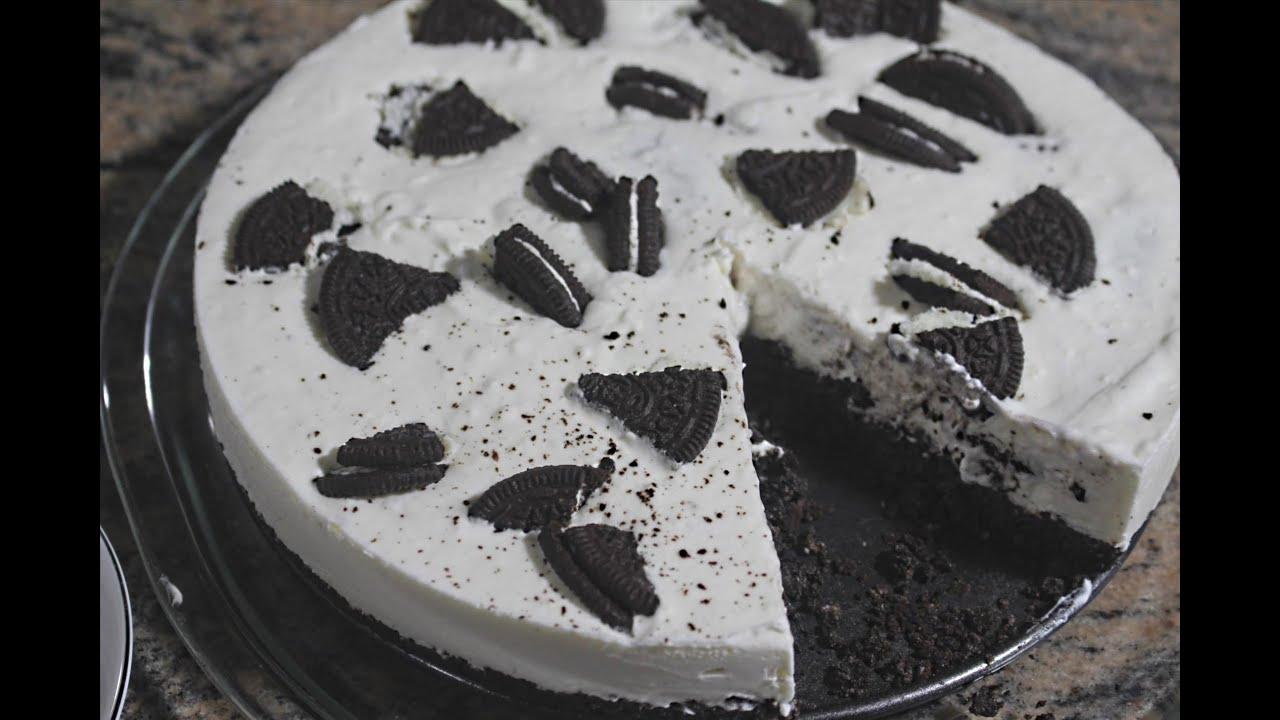 No Bake Oreo Cheesecake Recipe Oreo Cheesecake Recipe YouTube