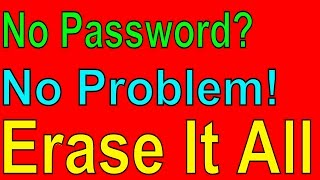 How To Factory Reset A Laptop With Password | Forgot Windows 10 Password | Get Fixed