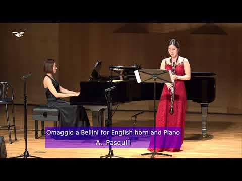 A  Pasculli   Omaggio a Bellini for English horn and Piano