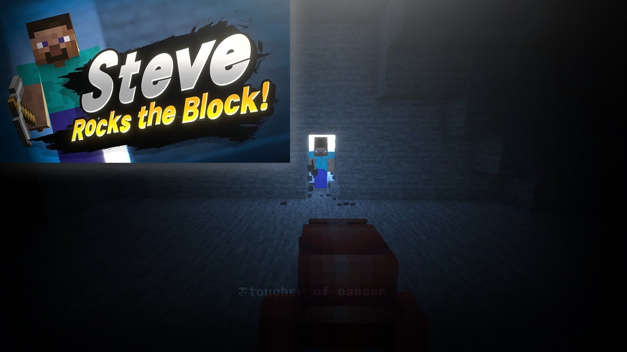 Minecraft Steve POV: You get invited into Smash