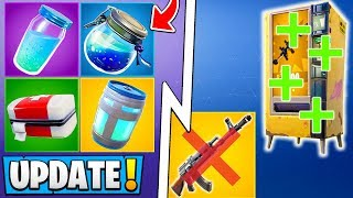 *ALL* Fortnite 8.10 Changes! | Heavy AR, Shield Update, Vending Machines!