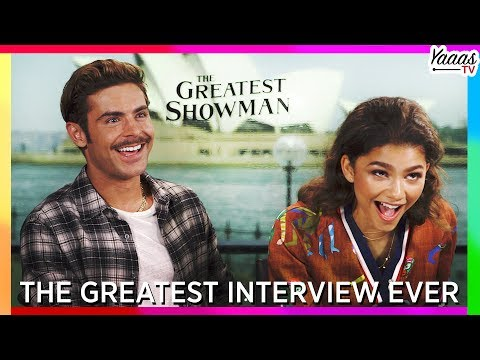 The Greatest Interview Ever! Hugh Jackman, Zac Efron, Zendaya, Keala Settle  The Greatest Showman