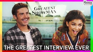 Download Lagu The Greatest Interview Ever! (Hugh Jackman, Zac Efron, Zendaya, Keala Settle) | The Greatest Showman Mp3