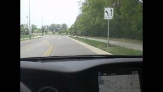 2013 Honda Accord test drive review. Push button start, navigation. Video # 6 of 6.
